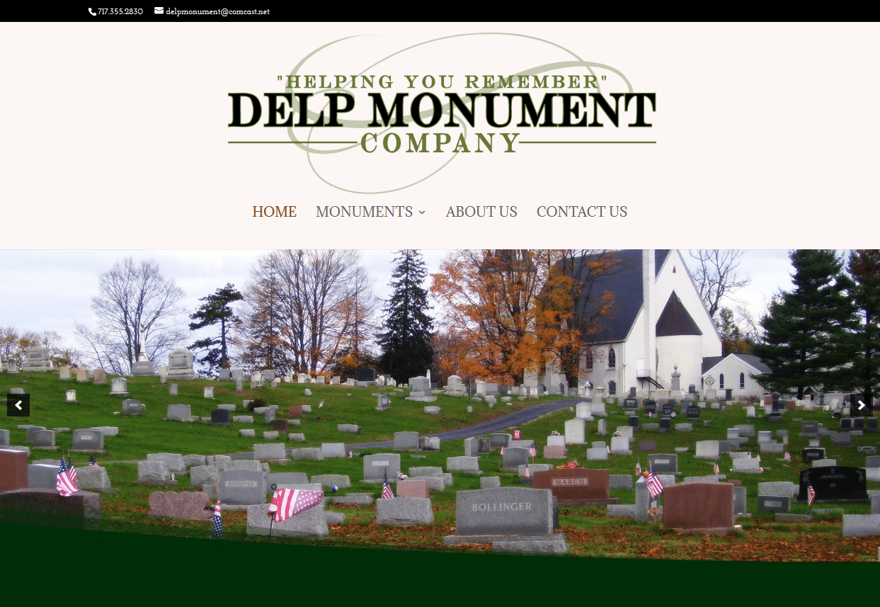 Screenshot_2019-08-13 Delp Monument Helping you remember