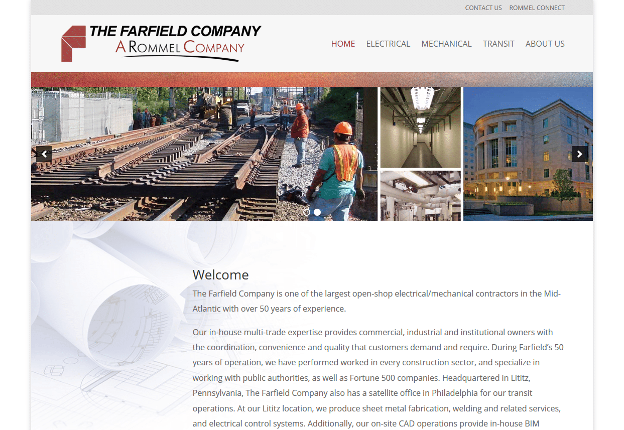 Screenshot_2019-08-13 Farfield The Farfield Company is one of the largest open-shop electrical mechanical contractors in th[...]