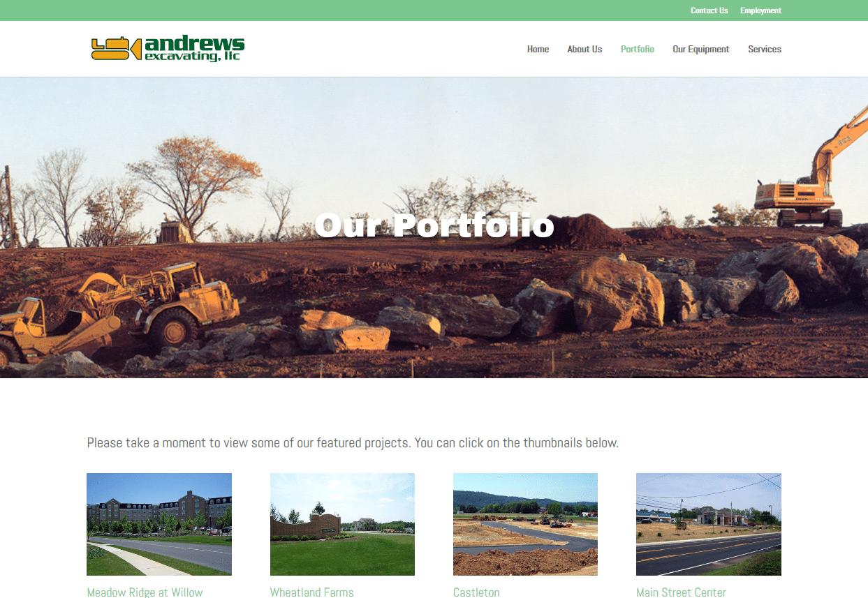 Screenshot_2019-08-13 Portfolio Andrews Excavating